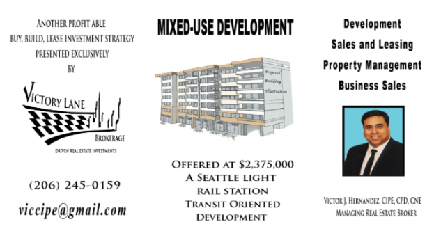 Active Seattle Real Estate Mixed-Use DVLPMNT Deal